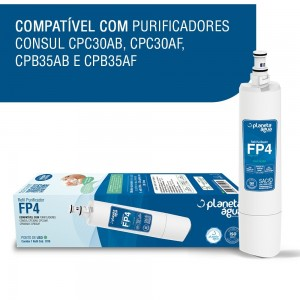 Foto2 - Filtro FP4 para Purificadores Consul - Planeta Água - 1078