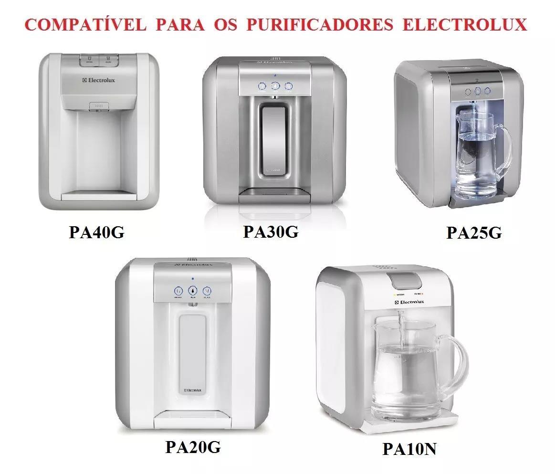 Foto3 - Refil Filtro Purificador De Água Electrolux Modelo Pappca10- Similar