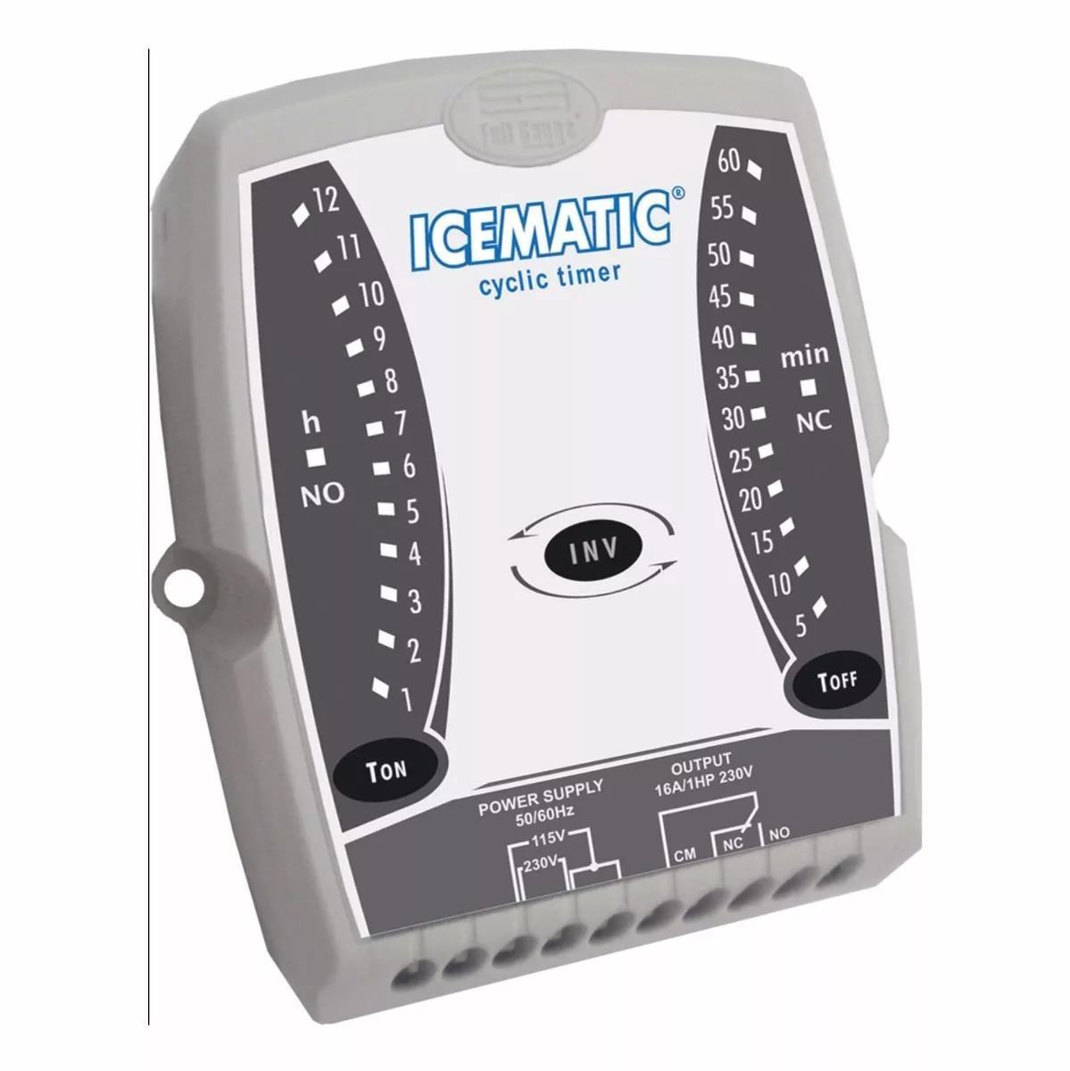 Imagem do produto Controlador Full Gauge Icematic Bivolt