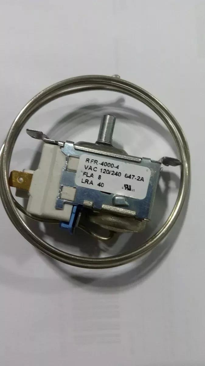 Imagem do produto Termostato Robertshaw RFR4000-4P Metalfrio Dupla Ação