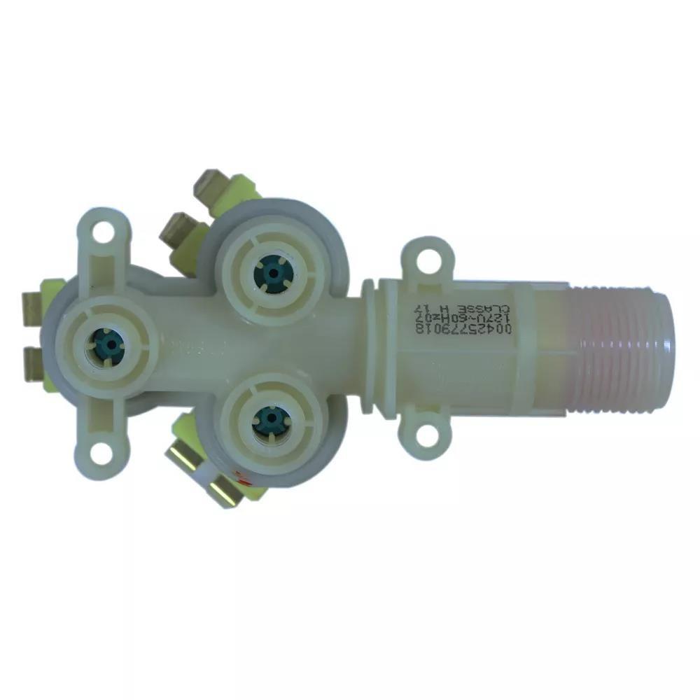 Foto2 - Válvula Compatível Lavadora Brastemp 3 Vias 127v - Emicol