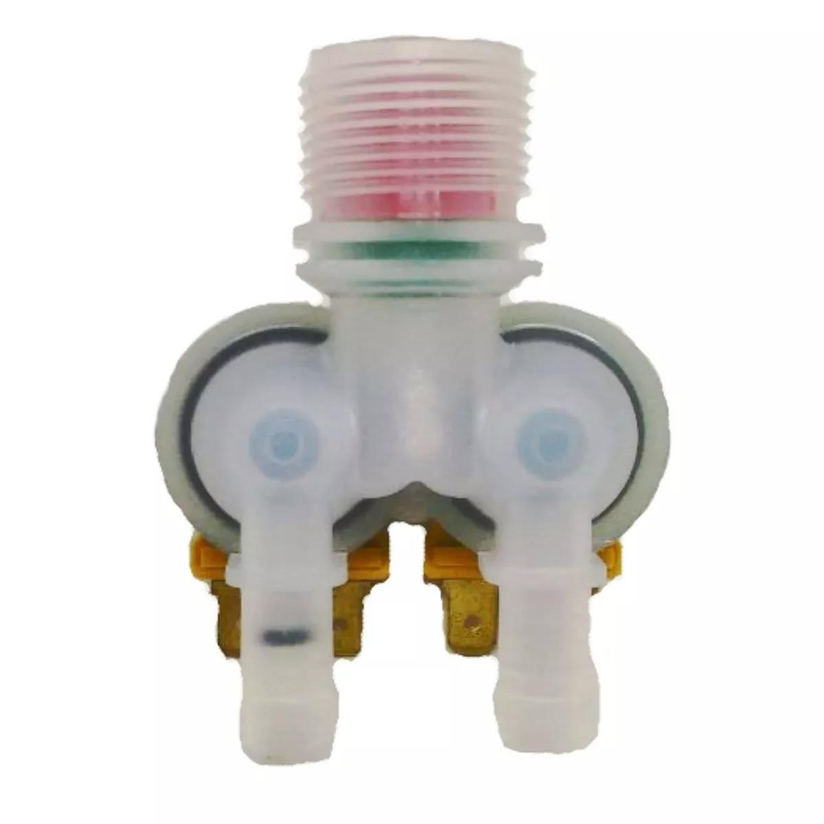 Foto2 - Válvula Dupla Lavadora Electrolux LM06 - 127v - Emicol