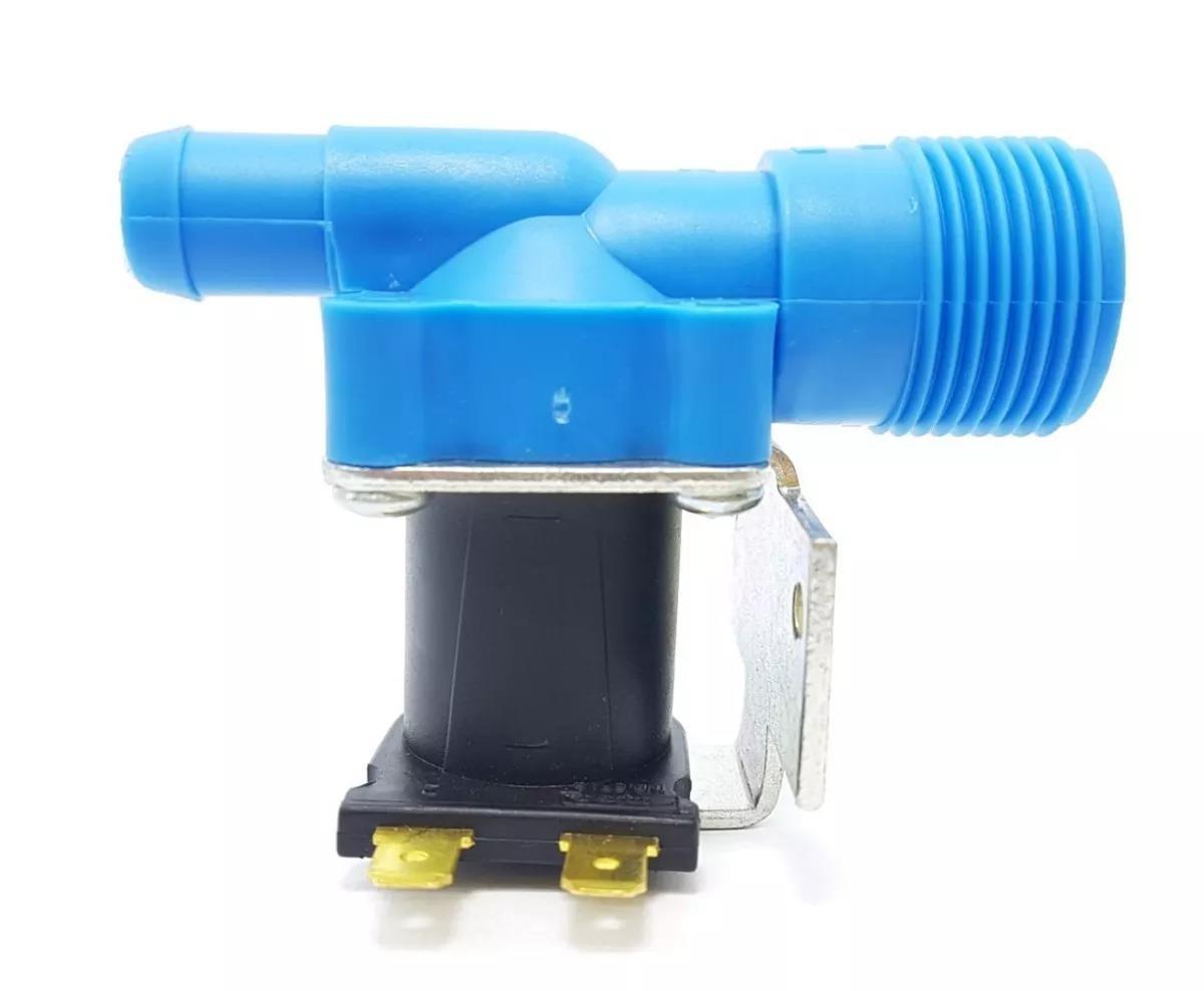 Foto2 - Válvula Entrada água Lavadora Brastemp Convencional 127v - Emicol