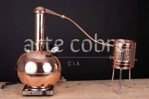 Foto1 - Alambique De Cobre Gin 10 Litros