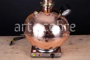 Foto3 - Alambique De Cobre Gin 10 Litros