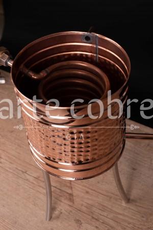 Foto5 - Alambique De Cobre Gin 10 Litros