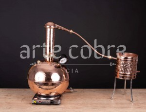 Foto6 - Alambique De Cobre Gin 10 Litros