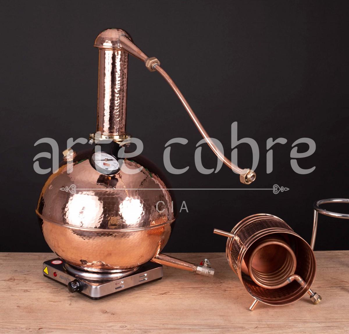 Foto2 - Alambique De Cobre Gin 15 Litros