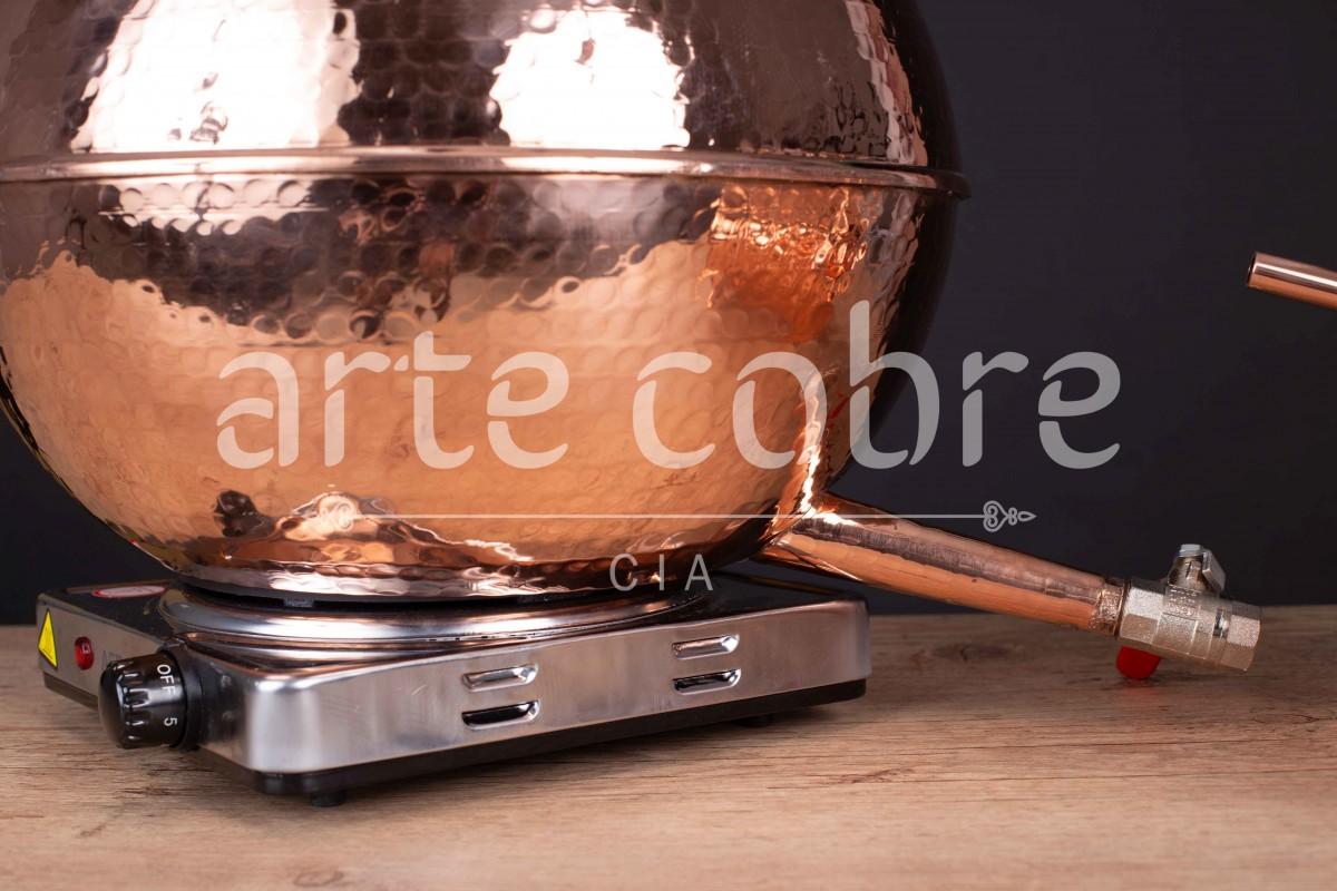 Foto3 - Alambique De Cobre Gin 15 Litros