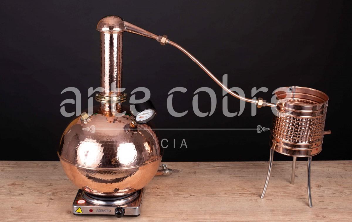 Foto4 - Alambique De Cobre Gin 15 Litros