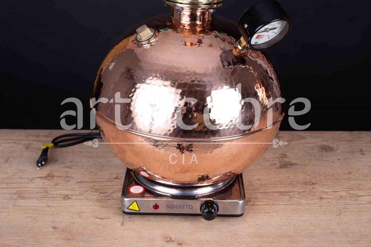 Foto5 - Alambique De Cobre Gin 15 Litros