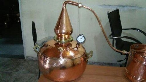 Foto 1 - Alambique de Cobre Whisky