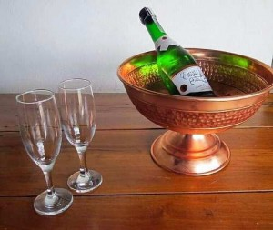 Foto1 - Champanheira De Cobre Puro Para Bebidas