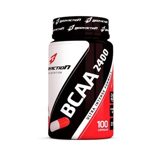 Foto 1 - BCAA 2400 - 100 cápsulas - BodyAction