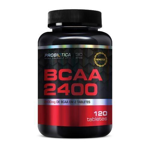 Foto 1 - BCAA 2400 - 120 Tabletes - Probiótica