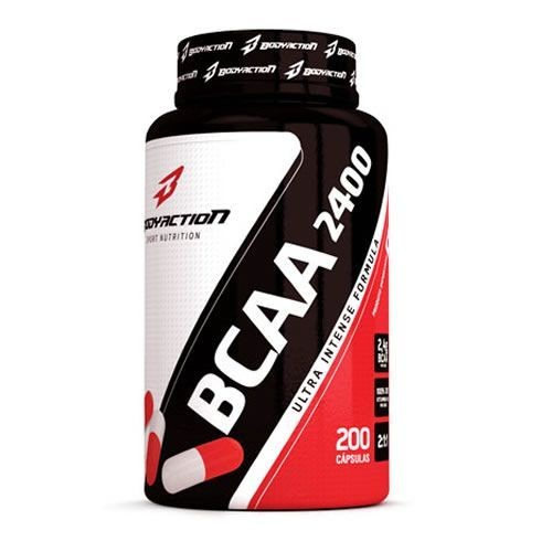 Foto 1 - BCAA 2400 - 200 Cápsulas - BodyAction
