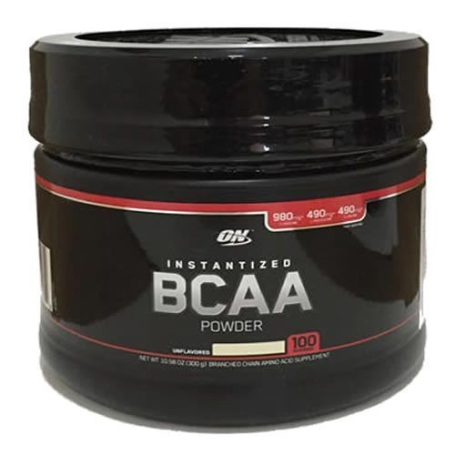 Foto 1 - BCAA Powder - 300g Sem Sabor - Optimum Nutrition