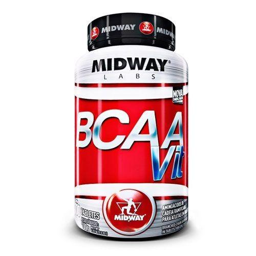 Foto 1 - BCAA Vit - 100 tabletes - Midway