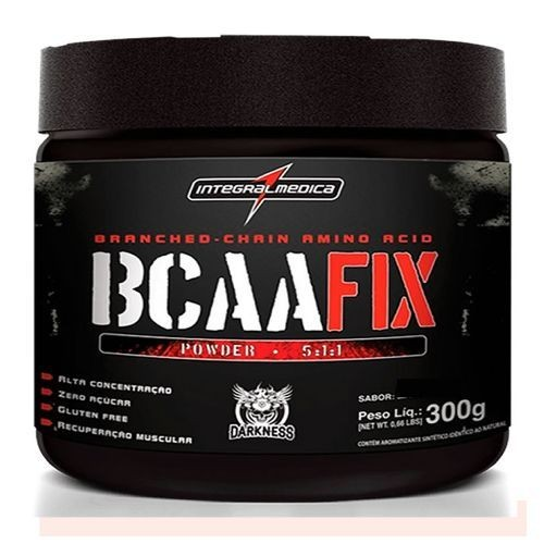 Foto 1 - Bcaa Fix Darkness - Neutro 300g - Integralmédica