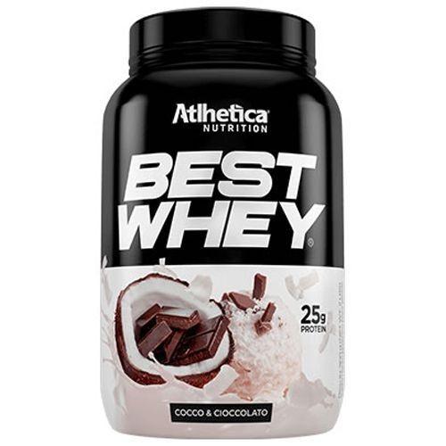Foto 1 - Best Whey Atlhetica Nutrition Coco & Cioccolato 900G