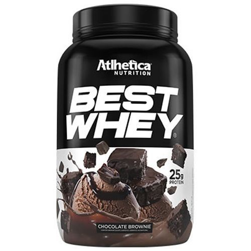 Foto 1 - Best Whey Atlhetica Nutrition Chocolate Brownie 900G
