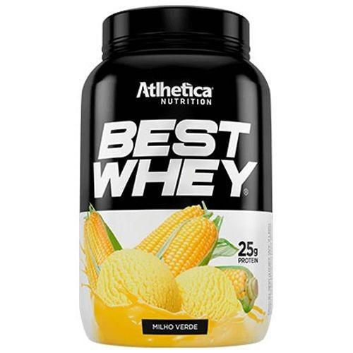 Foto 1 - Best Whey Atlhetica Nutrition Milho Verde 900G