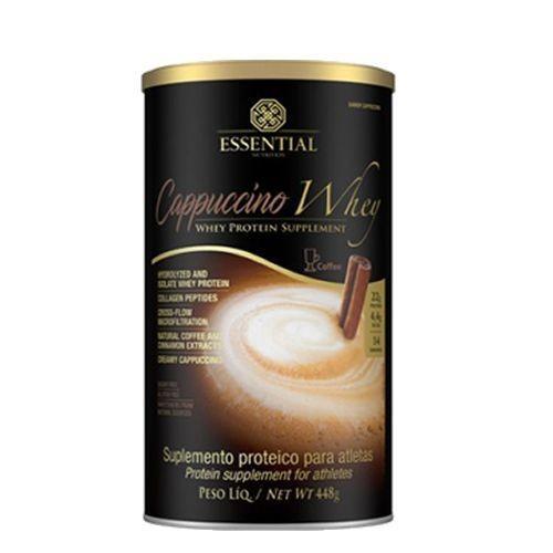 Foto 1 - Cappuccino Whey - 448g Cappuccino - Essential Nutrition