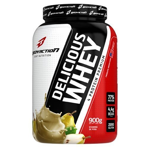 Foto 1 - Delicious Whey - 900g Vitamina de Pera - BodyAction