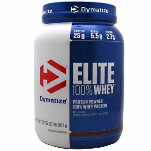 Foto 1 - Elite 100% Whey Protein - 907g Cookies & Cream - Dymatize Nutrition