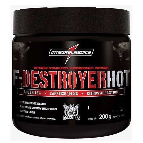Foto 1 - F-Destroyer HOT - 200g Energy Guaraná - Integralmédica