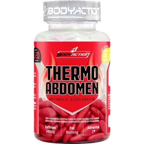 Foto 1 - Thermo Abdomen - 120 tabletes - BodyAction