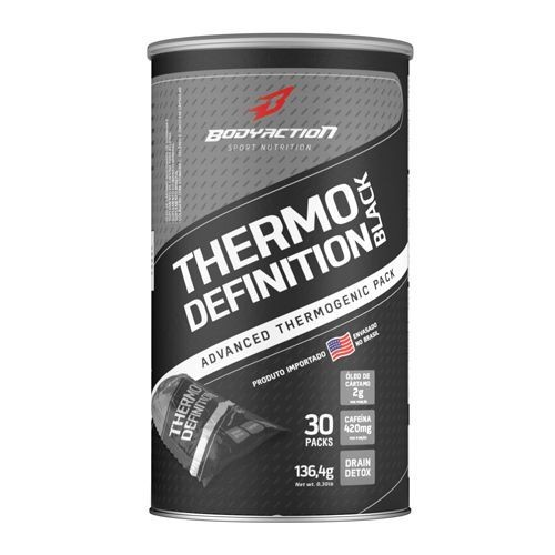 Foto 1 - Thermo Definition Black - 30 Pack - Body Action