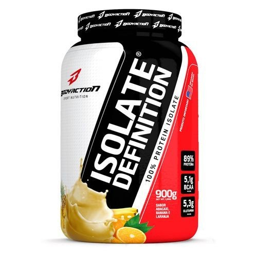 Foto 1 - Whey Isolate Definition - 900g Abacaxi, Banana, Laranja