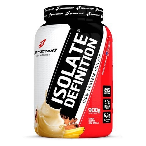 Foto 1 - Whey Isolate Definition - 900g Banana & Canela