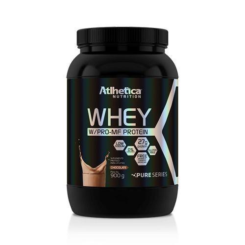 Foto 1 - Whey W/Pro-MF Protein - 900g Chocolate - Atlhetica