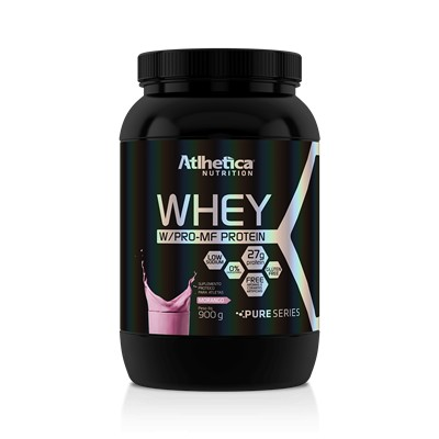 Foto 1 - Whey W/Pro-MF Protein - 900g Morango - Atlhetica