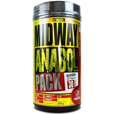 Foto 1 - Anabol Pack 30 Doses Midway