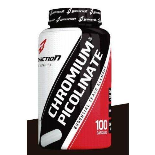 Foto 1 - chromium picolinate body action 100 cápsulas