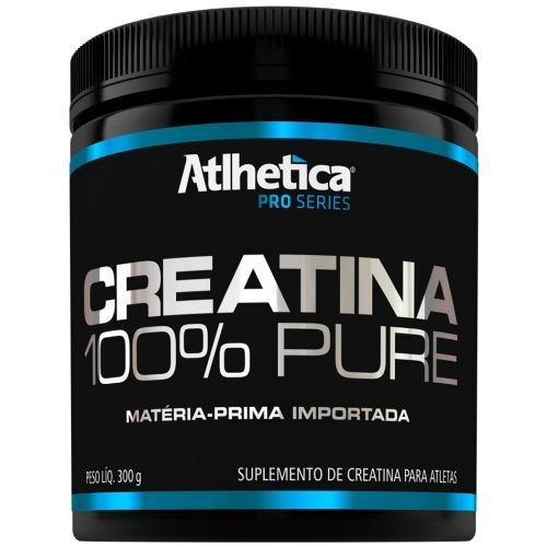 Foto 1 - Creatina 100% Pure Pro Series - 300g Natural - Atlhetica