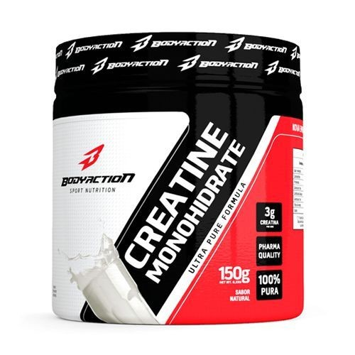Foto 1 - Creatine Monohydrate - 150g - BodyAction