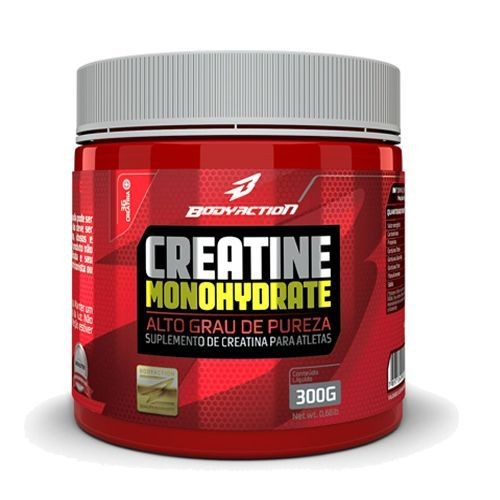 Foto 1 - Creatine Monohydrate - 300g - BodyAction