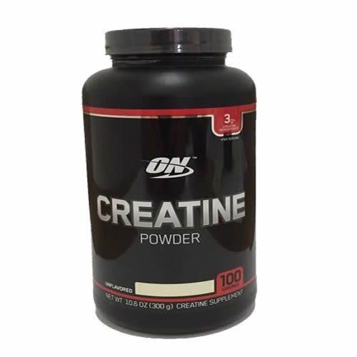 Foto 1 - Creatine Powder - 300g Sem Sabor - Optimum Nutrition