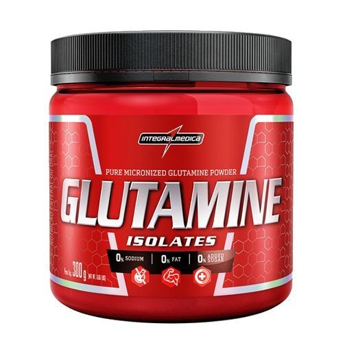 Foto 1 - Glutamine Isolates - Natural 300g - Integralmédica