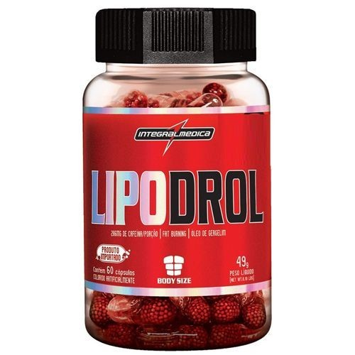 Foto 1 - Lipodrol - 60 cápsulas - Integralmédica