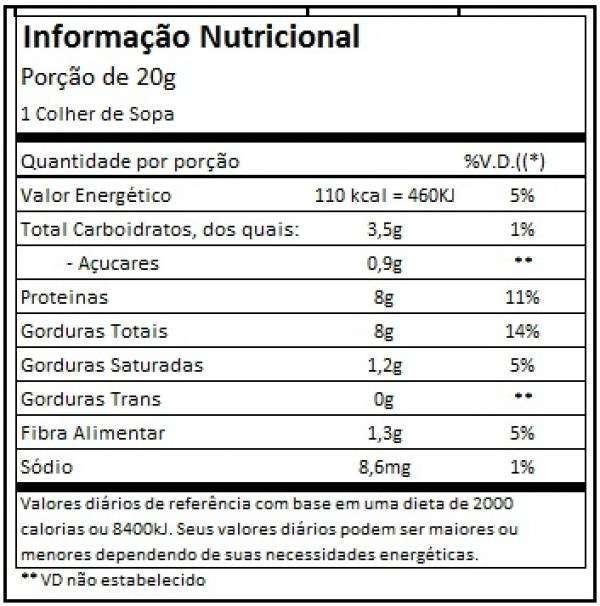 Foto2 - Pasta de Amendoim First c/ Whey Protein Santa Helena