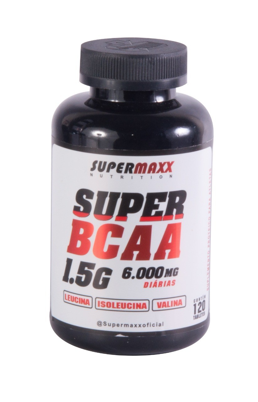 Foto 1 - Super BCAA 120 Tabletes SuperMaxx