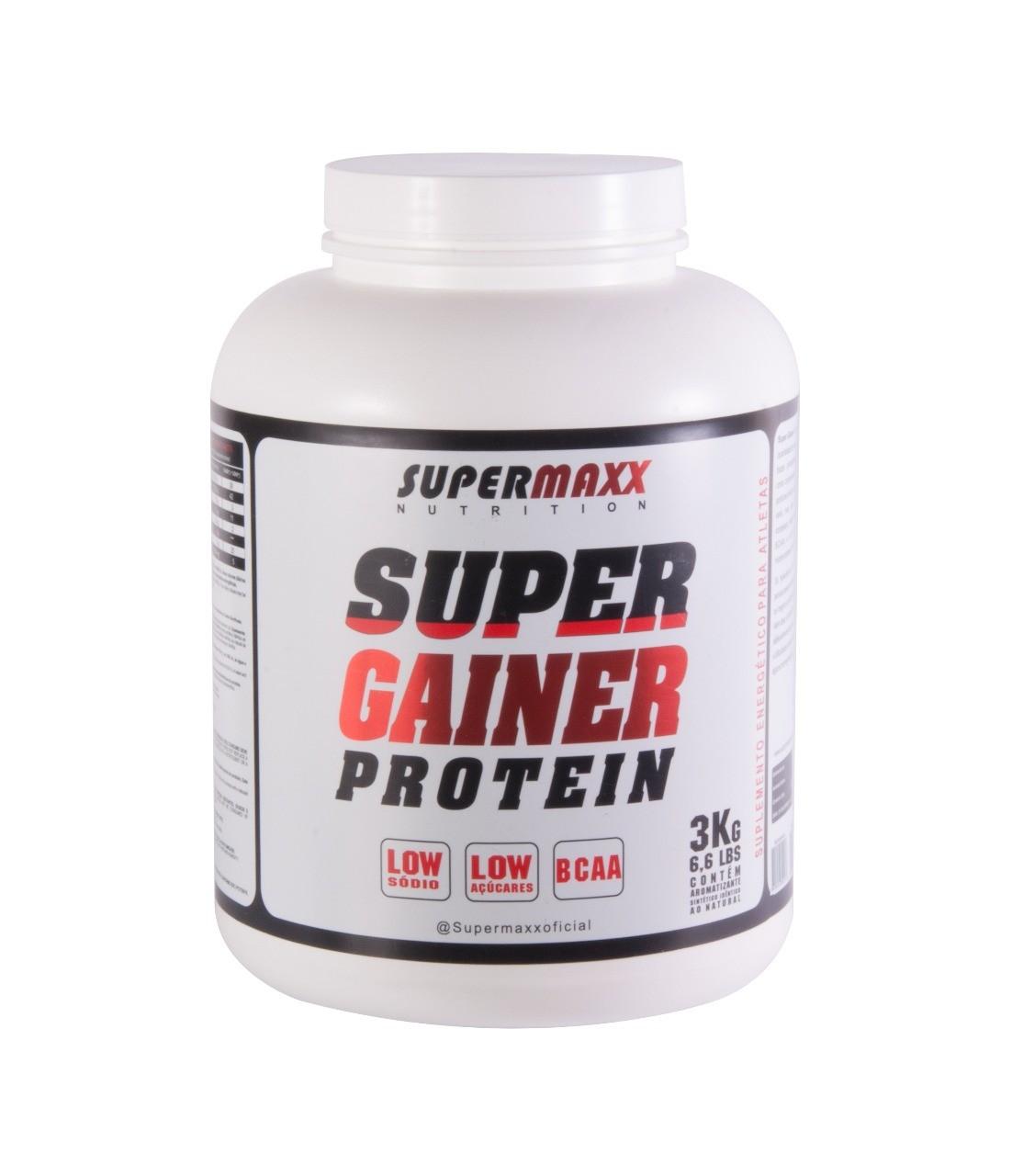 Foto 1 - Super Gainer Protein 3Kg SuperMaxx