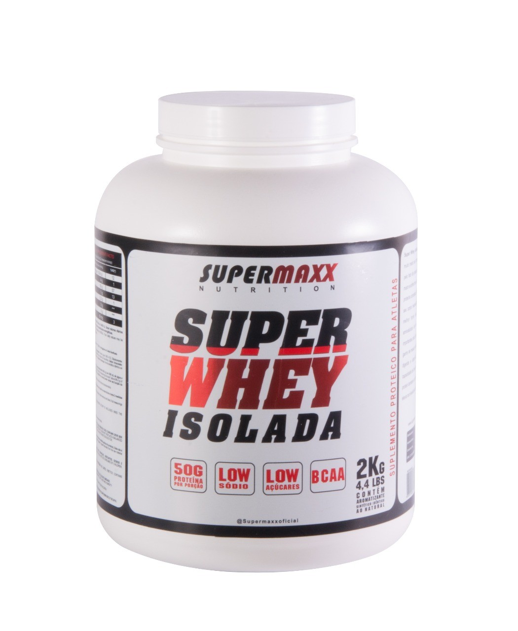 Foto 1 - Super Whey Isolada 2Kg. SuperMaxx