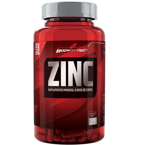 Foto 1 - Zinc - 100 Cápsulas - BodyAction