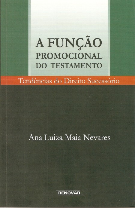 Foto 1 - A Função Promocional do Testamento